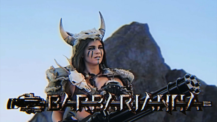 Barbarianna in Kung Fury