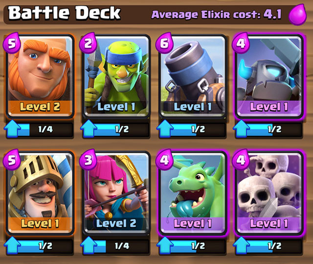 Clash Royale: Deck Building