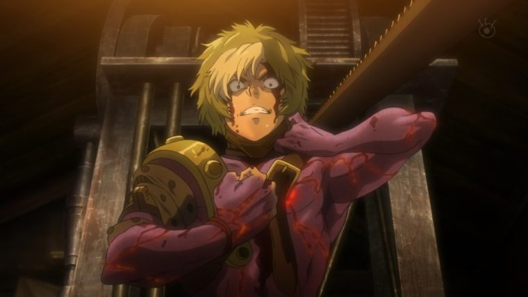 Screenshot from Kabaneri of the Iron Fortress