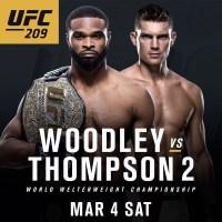 UFC 209: Woodley vs. Thompson 2