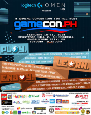 GameCon PH 2018 Poster