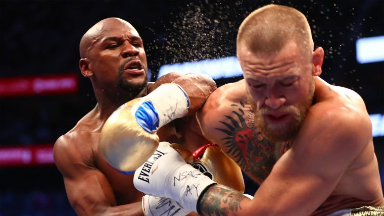 Mayweather vs. McGregor — Left Hook Up Top
