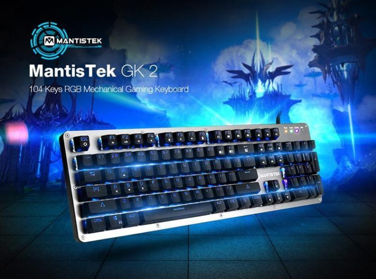 MantisTek GK2 Mechanical Keyboard