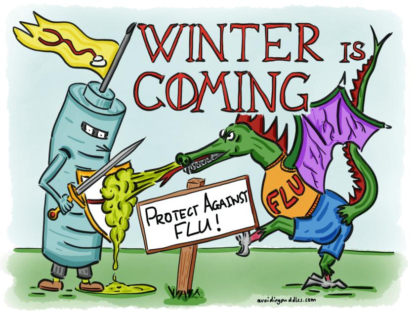 Flu Campaign Sketch
