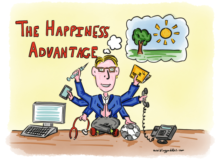 The Happiness Advantage Sketch