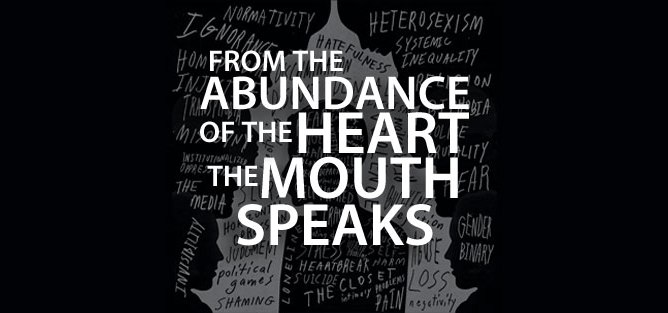 from abundance of heart the mouth speaks featured image