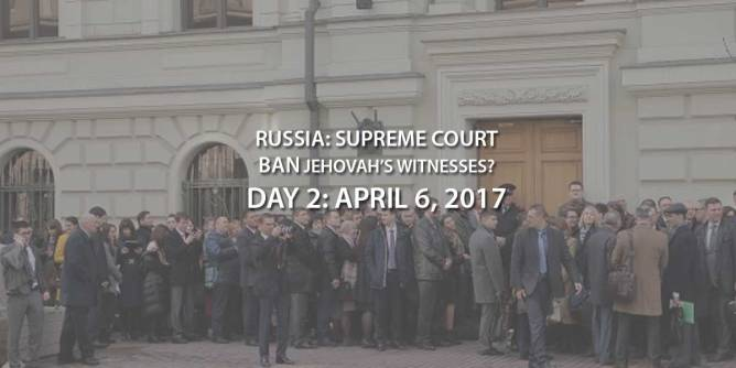 Russia to Ban Jehovah's Witnesses?