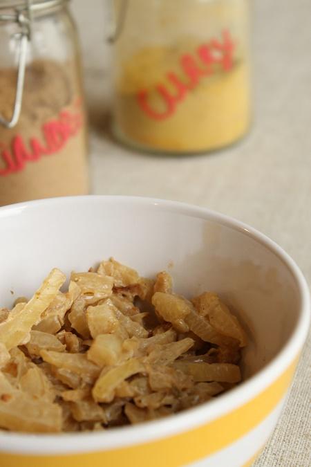 Poêlée de fenouil au curry