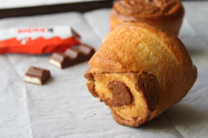 La Briochecookie aux pépites de chocolat Kinder