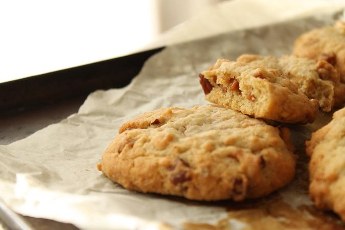 Cookie caramel et pecan