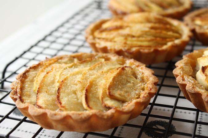 Tartelettes aux pommes banane noix de coco