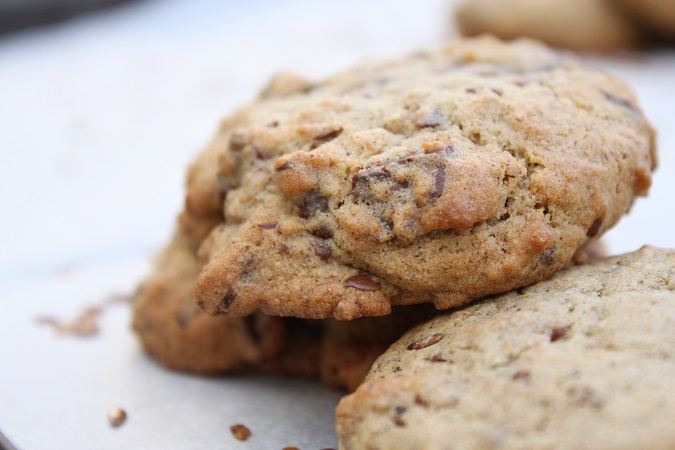 Cookies chocolat noisette sarrasin