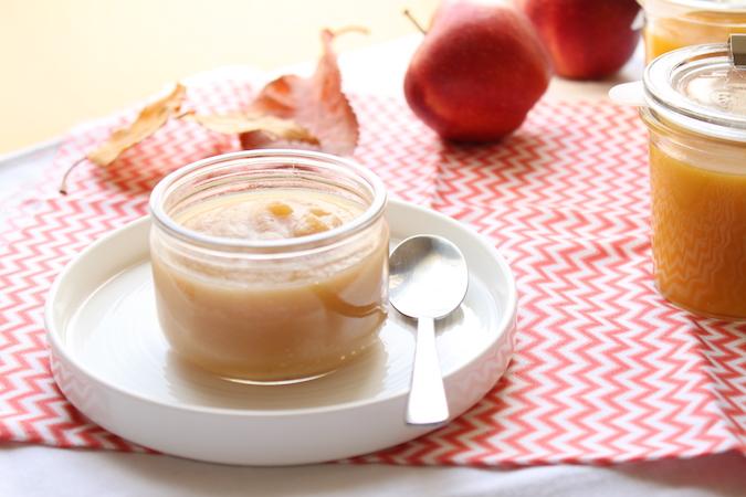 Compote pomme poire mangue