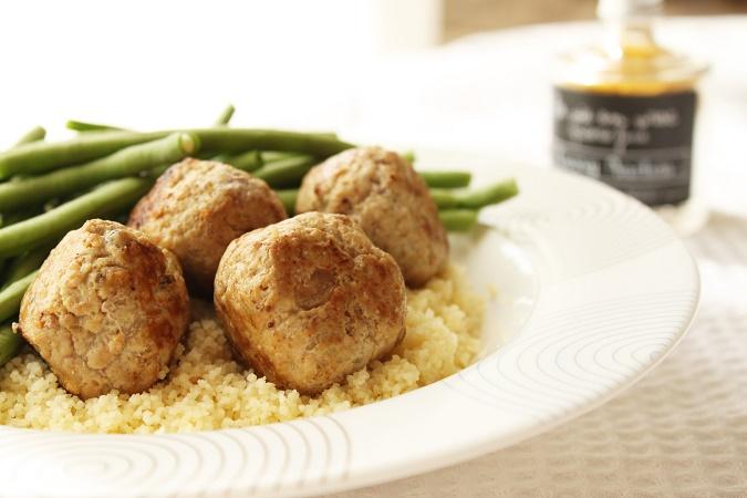 Boulettes veau curry