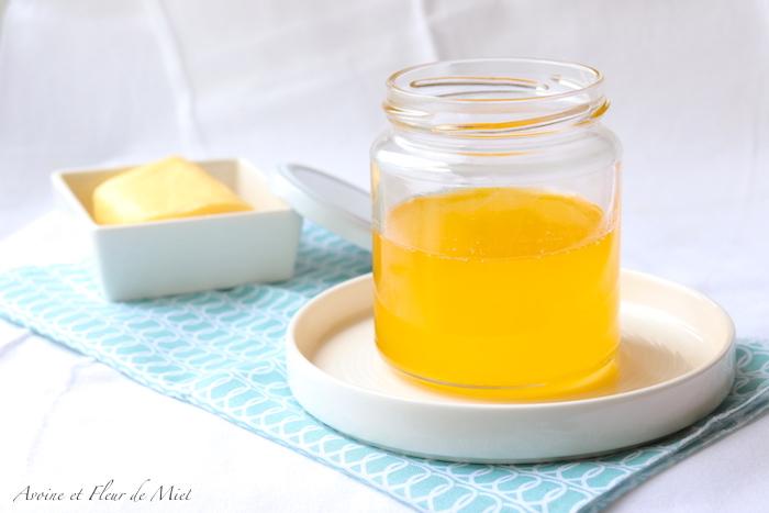 Ghee ou beurre clarifié maison