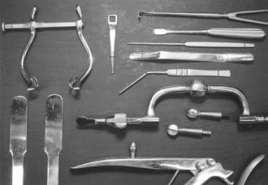les outils de lobotomie