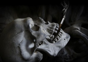 Crâne qui fume et bpco