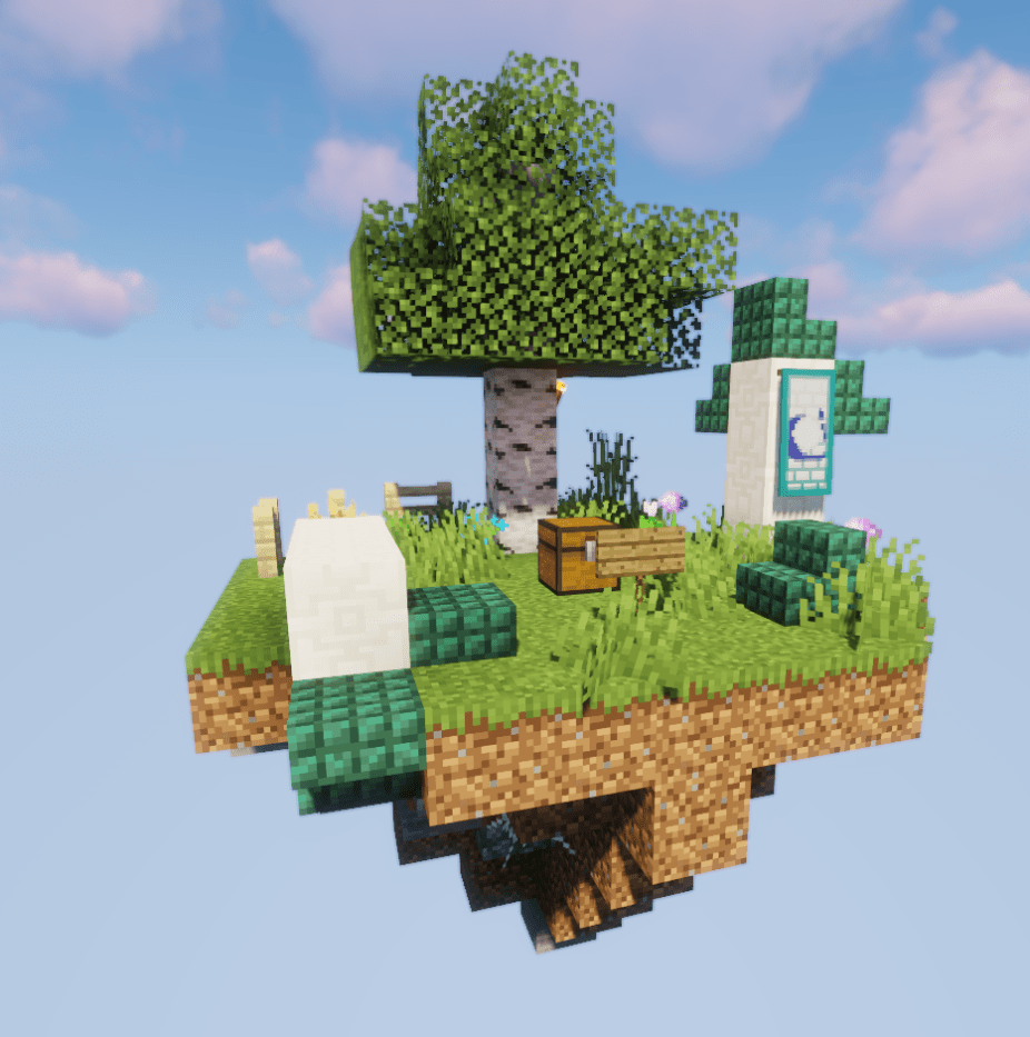 Skyblock Elf island