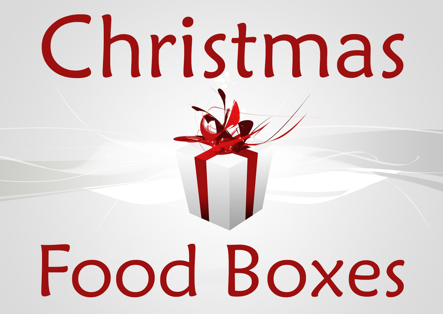 Image result for Christmas boxes of food images