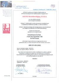 Certificaat-apragaz