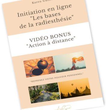 """Sommaire de l'e-book """"Radiesthésie, écoute de soi et prise décision, quel lien ?"""""""