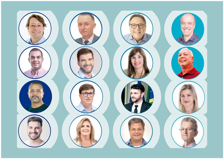 Os candidatos a vice (Infografia AVS)
