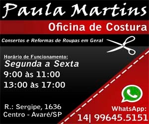 Paula Martins - Oficina de Costura