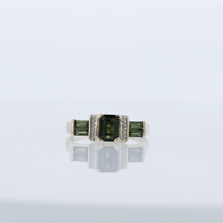 Tourmaline Ladies Ring
