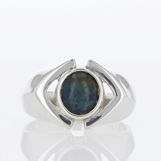 Clark & Coombs Opaloid Ring