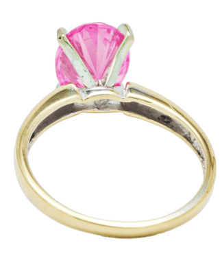 Pink Stone Solitaire