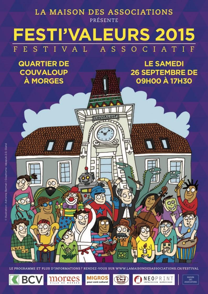 Affiche Festivaleurs