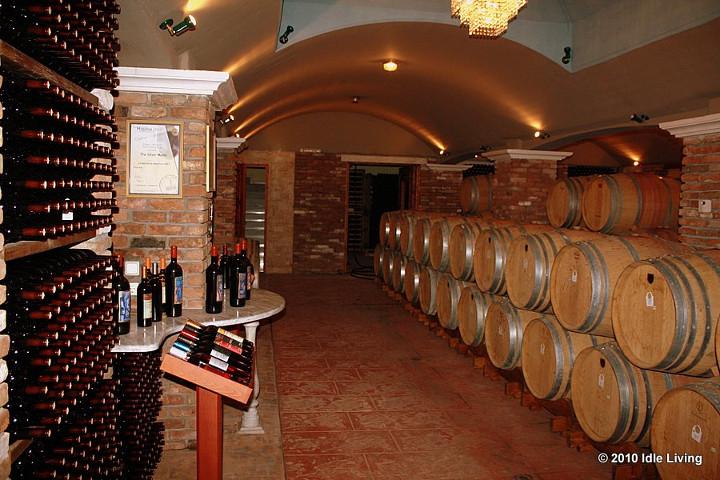 Crame greceşti (2): Wine Art Estate