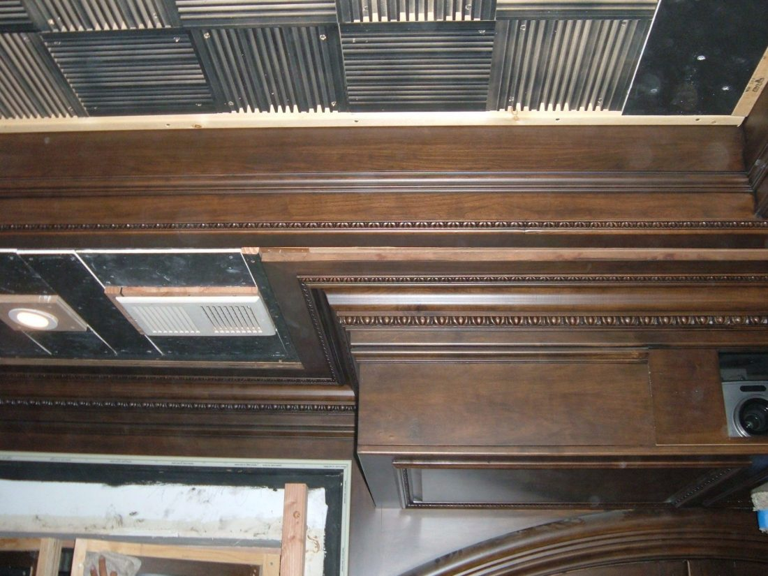 FRP ceiling details, CA
