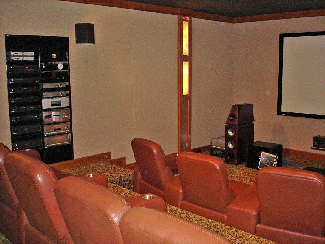 FRP 2 channel room & theater