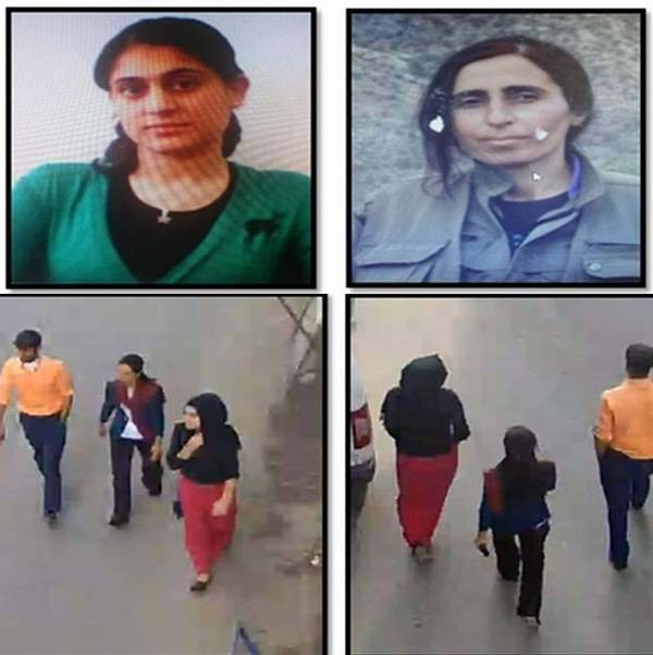 SIIRT'TE ARANAN PKK'LILAR GUVENLIK KAMERASINDA GORULMESI UZERINE POLIS EKIPLER PKK'LILARIN YAKALANMALARI ICIN CALISMA BASLATTI. FOTO: SIIRT, (DHA)