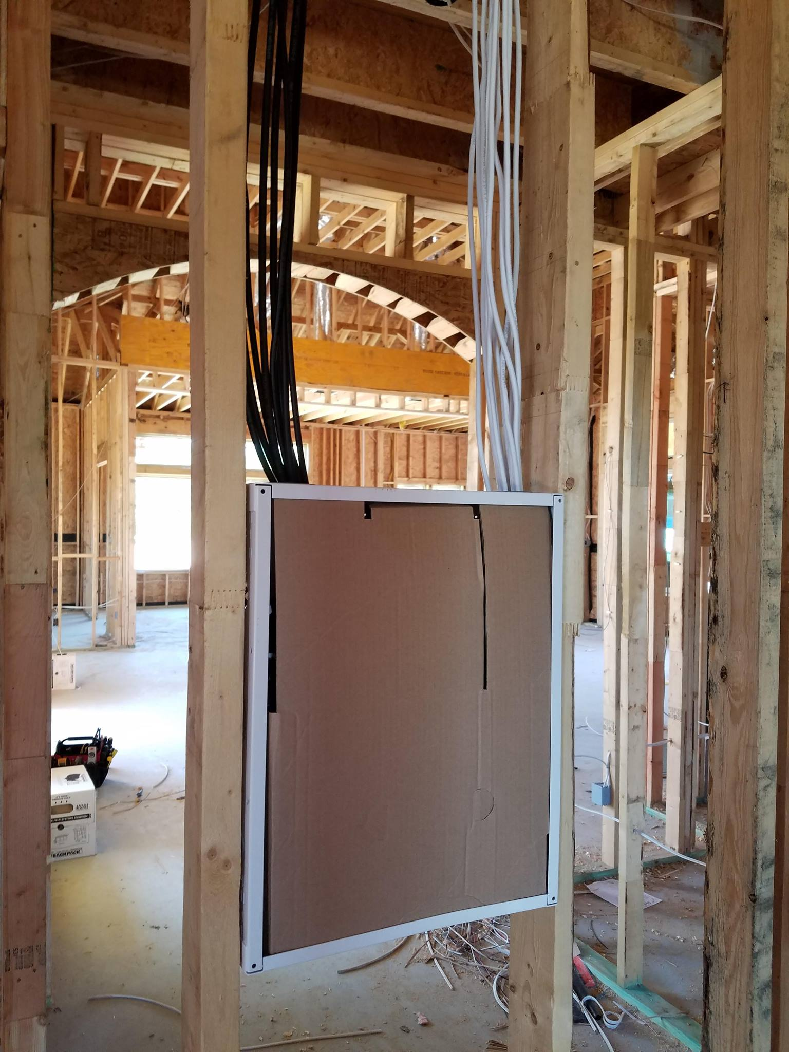 hight resolution of residential commercial prewiring