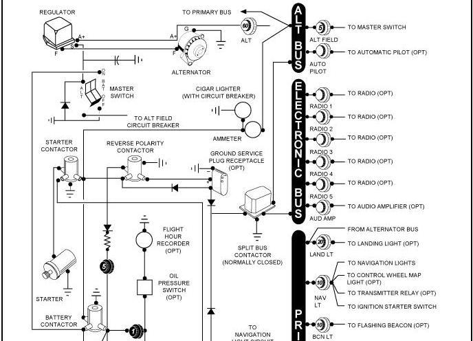 Aircraft Ammeter Shunt Wiring Diagram Ammeter Instrument