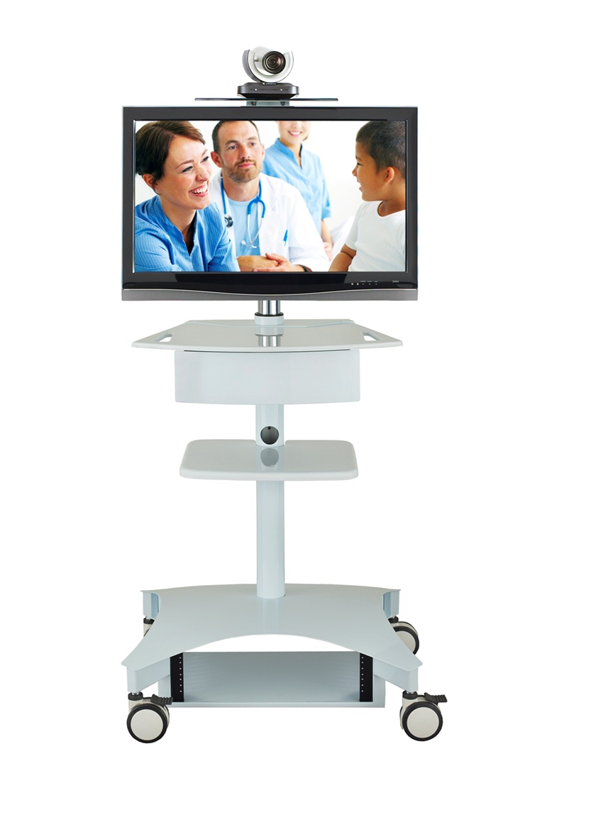 TMP200 Telemedicine Cart  Carts  Stands  AVTEQ