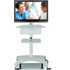 Adjustable Height Chairs Very Unusual Tmp-200 Telemedicine Cart | Carts & Stands Avteq