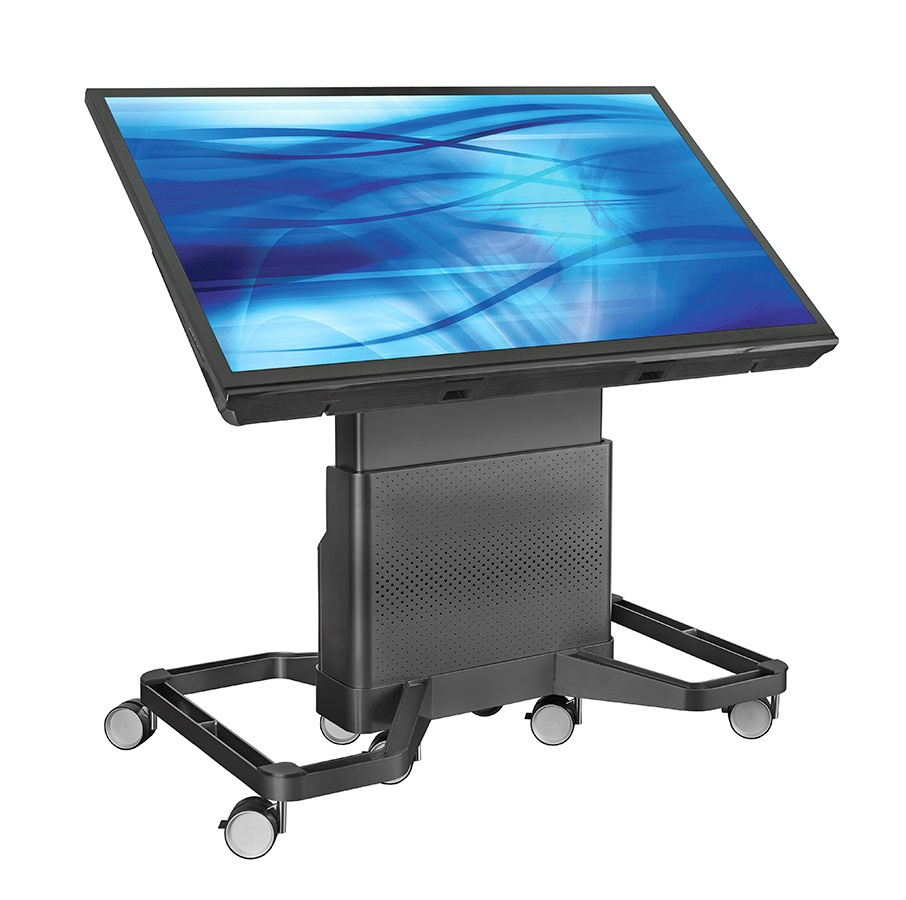 DynamiQ Touch Panel Cart  Height Adjustable Cart  AVTEQ