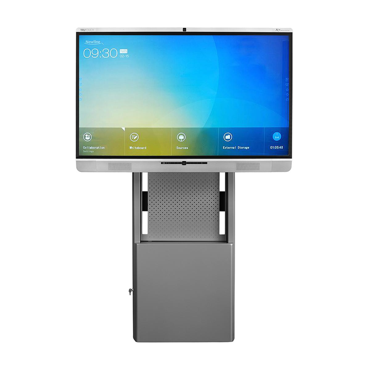 DynamiQ Adjustable Height AV Stand  Cisco Webex Board