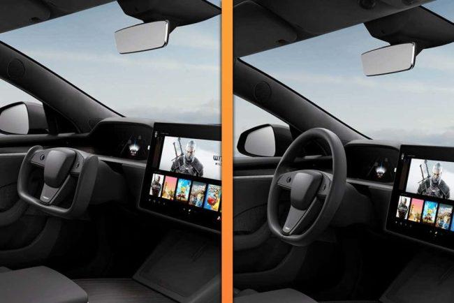 Tesla показала обновленную Model S с традиционным рулем, но потом фото удалили 1