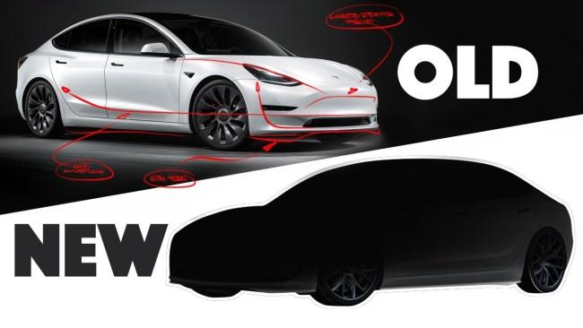 Первый взгляд на обновленную Tesla Model 3 (фото, видео) 1