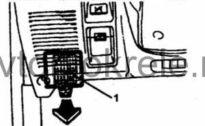 Блок предохранителей и реле Mitsubishi Pajero 2