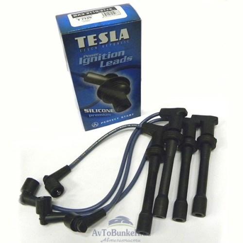 Провода высоковольтные 16 кл 2110 TESLA/100% силикон/