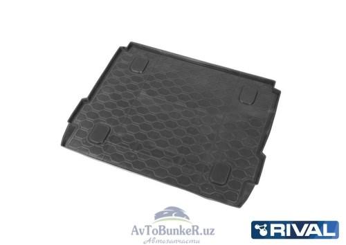 Коврик багажника, RIVAL, для Lada Xray c полкой 2016-