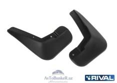 Комплект передних брызговиков, RIVAL, Lada Largus Cross 2012-