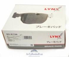 Комплект передних колодок LYNX 16 кл LARGUS,VESTA