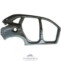 Боковина кузова Lada XRAY наружняя правая (катафорез) (крыло заднее+порог)