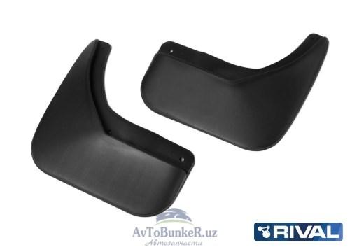 Комплект задних брызговиков, RIVAL, Lada Xray хэтчбек Cross 2015-
